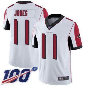 Falcons Julio Jones 100th Season Jersey 2